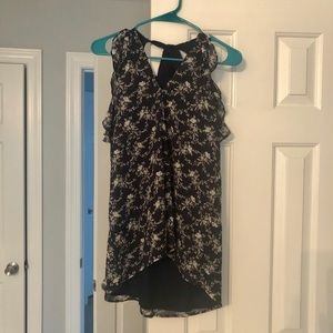 Miss Chievous Sleeveless Blouse Size M